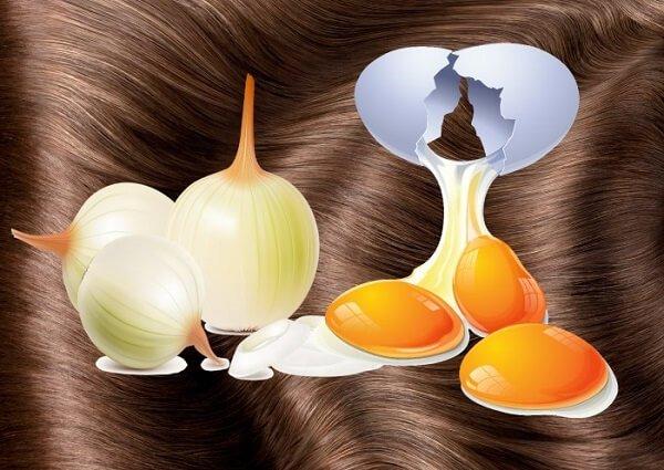 Маски с яйцом для волос.