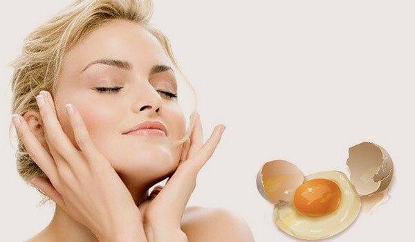 Маски с яйцом для лица.