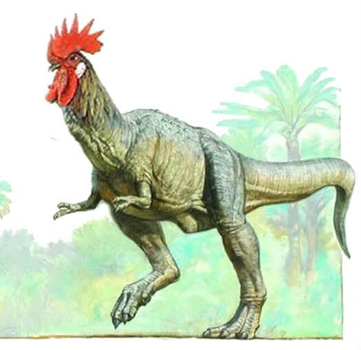 Курица динозавр.
