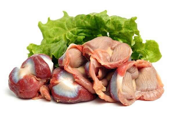 Куриные желудки - польза и вред, калорийность.