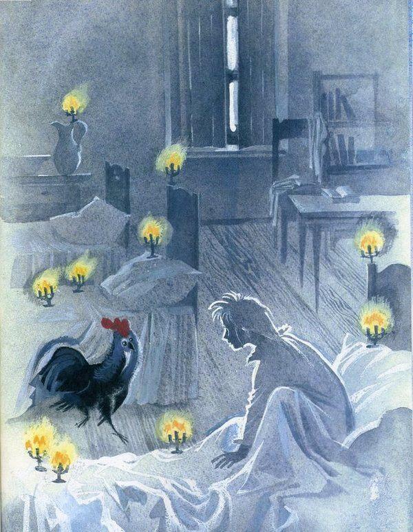 Сказка Черная курица, или Подземные жители.