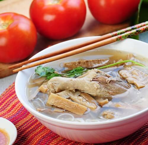 Куриный суп Миен га.