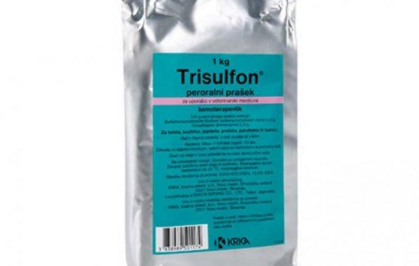 Трисульфон - инструкция по применению для птиц и кроликов.