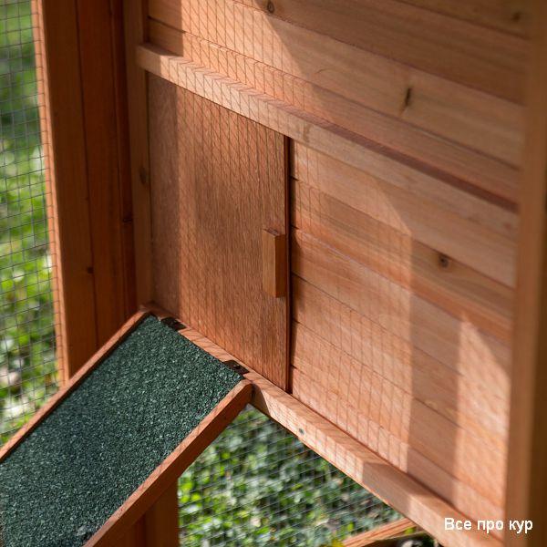 Мобильный курятник фото на лето для дачи и сада.