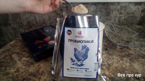 Пробиотики и пищевые добавки для кур и цыплят.