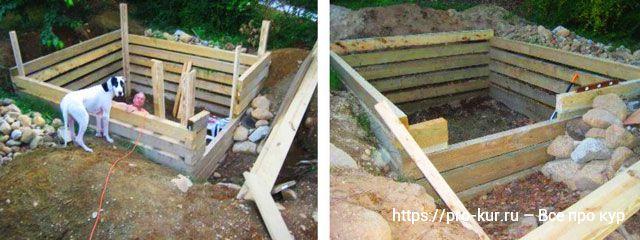 Курятник в яме – как построить и что учесть, советы и видео.